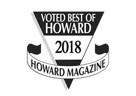 Best of Howard County Honorable Mention 2018